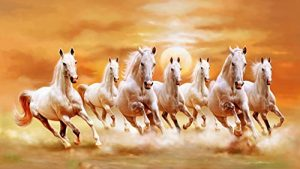 7 horse