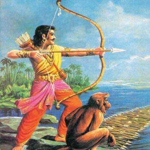 arjuna and hanuman