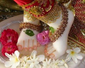 Sri krishna feet