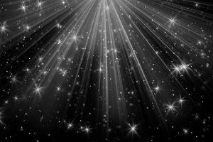 black rays