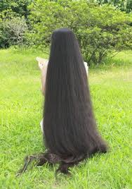 ladies long hair