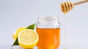 lemon with honey