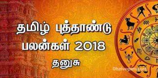 2018 Rasi palan Dhanusu