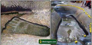 Hanuman Foot print