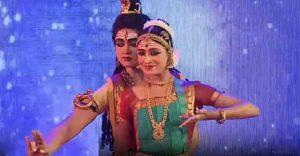 Arthanareswarar dance