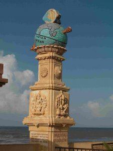 somnath temple pillar