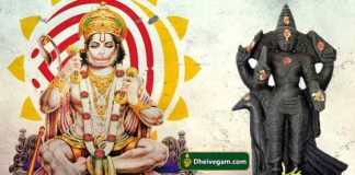 Hanuman and Sani