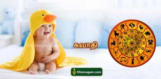 Tamil baby names swathi