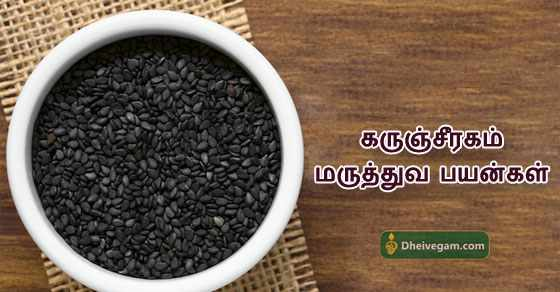 Karunjeeragam benefits in Tamil