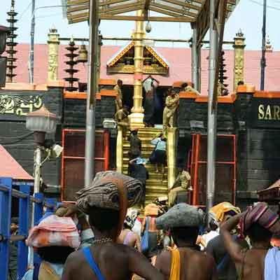 Sabarimala temple opening