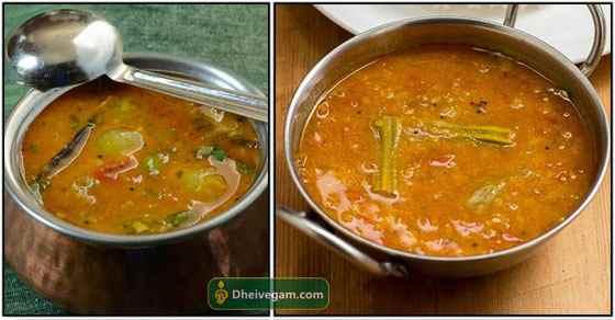 Sambar Recipe in Tamil