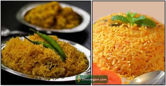 Tomato rice recipe in Tamil