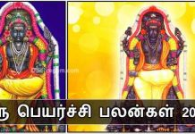 Guru Peyarchi palangal 2018 to 2019 in Tamil