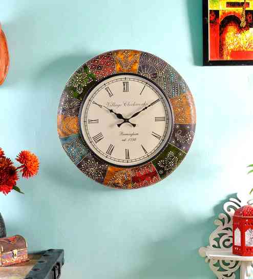 wall clock 1-compressed