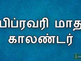 feb 2019 tamil calendar