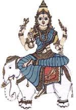 Goddess-Indrani