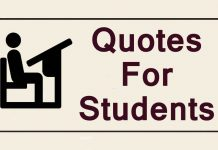 Students quotes