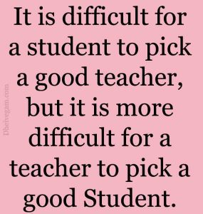 Thoughts of the day for students