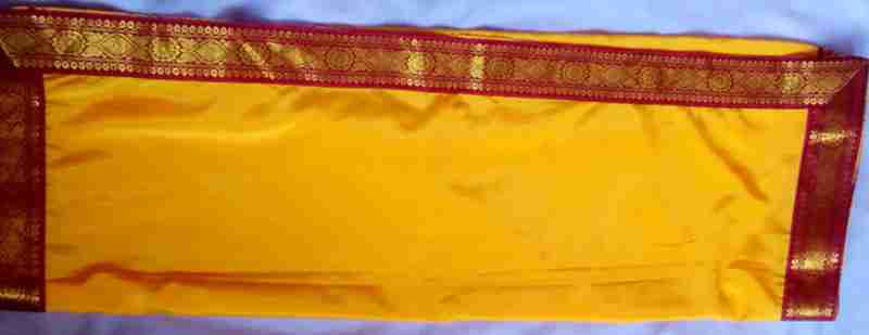yellow-saree
