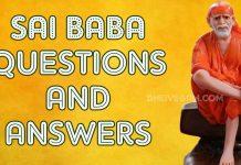 Sai Baba answers