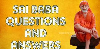 Sai Baba answers