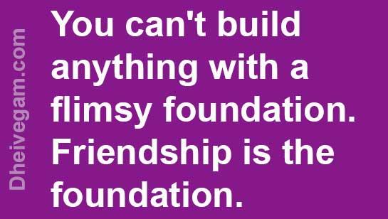 Friendship status