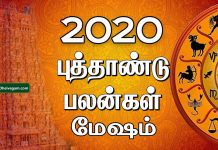 2020 new year rasi palan Mesham
