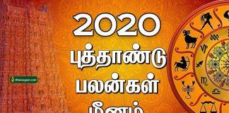 2020 New year rasi palan Meenam