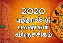 2020 New year rasi palan Viruchigam