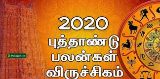 2020 New year rasi palan Viruchigam