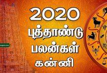 2020 New year rasi palan Kanni