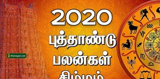 2020 new year rasi palan simam