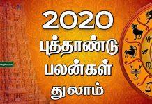 2020 New year rasi palan Thulam
