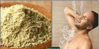 bath-powder