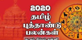 2020 Tamil new year rasi palan Kadagam