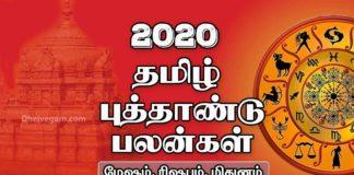 2020 Tamil new year rasi palan mesham