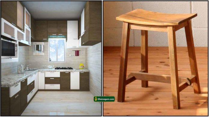 kitchen-stool-wood