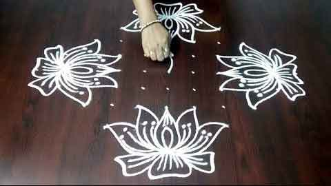 lotus-kolam