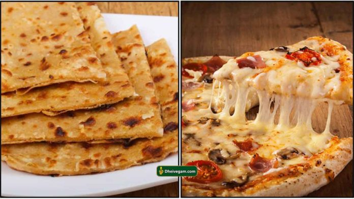 cheese-chappathi-pizza