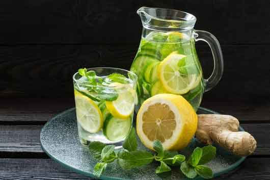 mint-lemon-ginger-juice