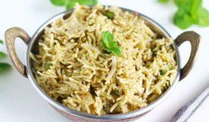 pudina-rice2