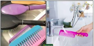 comb-cleaning