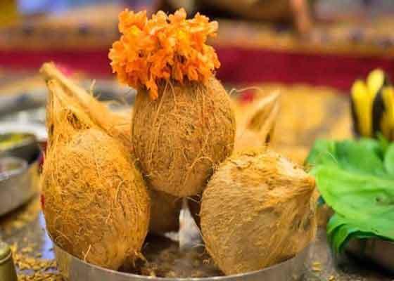 pooja-coconut