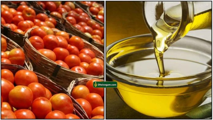 tomato-oil